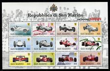 SAN MARINO 1998 FERRARI FORMULA UNO RACE CARS 50th ANN/COAT of ARMS/PEOPLE