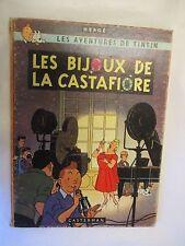 """Hergé Tintin """"Les Bijoux de la Castafiore"""" en EO Française B 34 de 1963"""