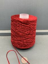 500G 2NM VISCOSE CHENILLE YARN BLOOD RED