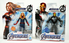 Marvel Avengers Endgame Iron Man and Captain Marvel Action Figures Toy Combo!