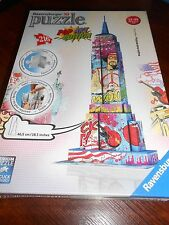 puzzle 3D  216 pièces NEW YORK empire state building éd. pop art - sous blister