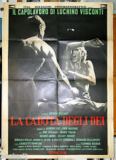 manifesto 2F film LA CADUTA DEGLI DEI Dirk Bogarde Ingrid Thulin Helmut Berger