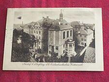 CPA STRASBOURG NEUDORF Clinique St Odile  / Alsace Bas Rhin / A voyagé en 1916