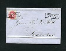 """""""patschkau"""" très clair - 1 SGR. sur lettre enveloppe (#783)"""