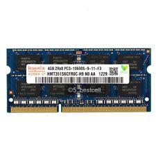 New Hynix 4GB PC3-10600 DDR3-1333MHz 204pin CL9 Sodimm Laptop Memory Ram