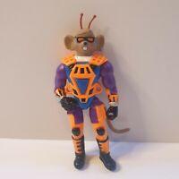 "Vintage Throttle Action Figure 5.5"" Biker Mice From Mars 1995 retro rare"