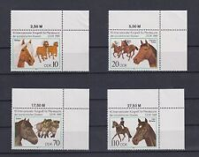 TIMBRE STAMP 4 ALLEMAGNE EX-RDA Y&T#2868-71 CHEVAL  NEUF**/MNH-MINT 1989 ~A65