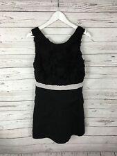 MONSOON FUSION Dress - Size UK12 - Black - Great Condition