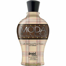 DDEVOTED CREATIONS MODA MILANO SUNBED TANNING LOTION CREAM 360ML + 2 FREE GIFTS