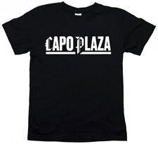 Tshirt Capo Plaza - Capoplaza rapper cd 20 musica maglietta maglia cotone uomo