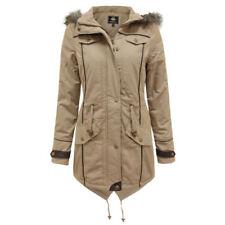 Cappotti e giacche da donna grigia Pelliccia Taglia 48