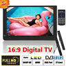 "7~14"" Portable Widescreen LCD ATSC-T/ T2 TV W/ Digital TV Tuner HDMI USB SD AV"