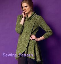 Butterick B5954 PATTERN - Misses Tunic - Size XSM - XXL - Brand New
