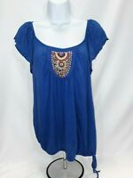 Women's Medium Blue H.I.P Knit Top
