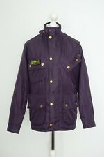 Mens Barbour International Bright Brass A7 Motorcycle Jacket Size S