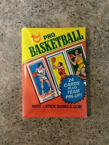 1980 Topps NBA Basketball Cards Wax Pack Factory Sealed Unopened ORIGINAL OWNER