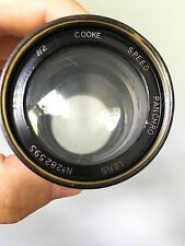 Taylor Hobson Cooke 75mm f2 Speed Panchro Vintage English Lens Cell Dallmeyer