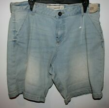 Target The Vintage Ladies Chino Short Size 14 Faded Blue Denim