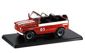DIECAST MODEL CAR UAZ-469B 1972 Hachette Legendary cars of USSR 1/24