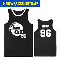 Above The Rim Basketball Jersey Hip Hop Shirt 96 Birdie Tupac Shakur Size S-3XXL