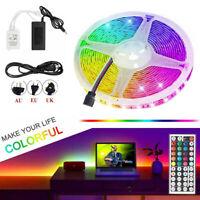 RGB LED Strip Light SMD 3528 lamp 44 Key Remote 12VDC Power Full Kit 32.8/49.2FT