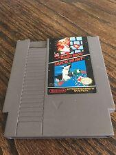 Super Mario Bros. / Duck Hunt Original Nintendo NES Cart Works NE4