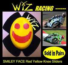 WIZ KNEE SLIDERS SMILEY FACE RED - YELLOW