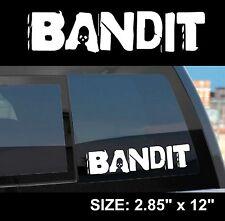 """Borderlands 2 / Pre-Sequel """"Bandit"""" Gun Manufacturer Sticker Decal"""