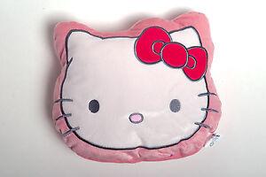 Hello Kitty Kuschelkissen Kissen Pyjamakissen Katze rosa 36 x 26 cm neu