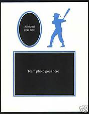 Girl at bat. Individual and team picture, 8 x 10 two Archival mats
