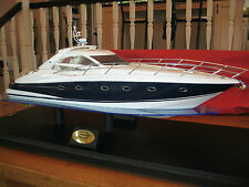 SUNSEEKER PORTOFINO 53 1/20 SCALE MODEL YACHT BOAT REPLICA by AMI CURVATURE