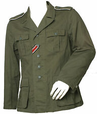 Ejército Wss Afrikakorps Camisa Campo Verde Caña Südfront Tropical Talla:50 = M