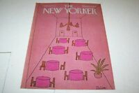 MARCH 31 1975 NEW YORKER magazine cover RESTAURANT
