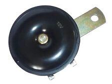 MINI DISC 12V Twin Terminal HIGH TONE Horn - High Quality - Loud & Legal!