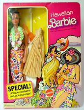 Vintage Hawaiian Barbie doll 1975 surfboard ukulele Hawaii 7470 NEW NRFB