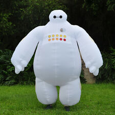 Halloween Big Hero 6 Inflatable Baymax Mascot Costumes Blow Up Fancy Dress Adult