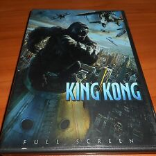 King Kong (DVD, 2006, Full Frame) Naomi Watts Colin Hanks, Jack Black Used