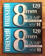 New listing Maxell P6-120 Gx-Mp High Quality Camcorder Tapes, Lot of Two Blank Still Sealed