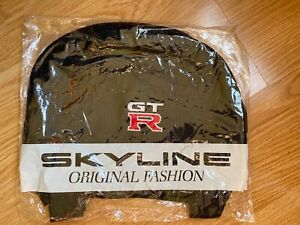 Nissan Skyline GTR R34 OEM Optional Altia Headrest Covers Seat Rare Nismo RB26