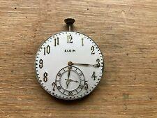 Jewel Pocket Watch Movement Elgin G.M. Wheeler 12s 17