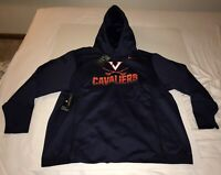 New Nike Men's Virginia Cavaliers UVA On Field Sideline Therma Hoodie 2XL $125