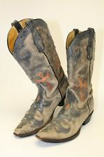 Corral Boots DISTRESSED R1092 94 253 Womens 8 D Western Cowboy Pointed Toe