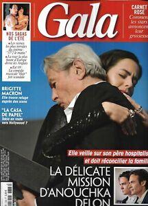 GALA n°1366 15/08/2019  Alain Delon & Anouchka/ Brigitte Macron/ Ursula Corbero