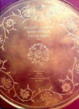 PAINTINGS, WORKS OF ART, VERTU SILVER Portakal Catalog in Turkish 1995 ISTANBUL