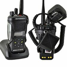 Turtleback Carry Holder for Motorola Apx 4000 Fire and Police Two Way Radio Belt