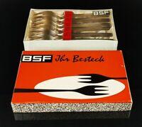 BSF Platura 6 Kuchengabeln 90 versilbert