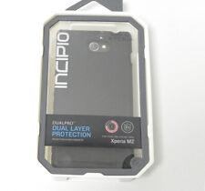 New OEM Incipio DualPro Black Case For Sony Xperia M2