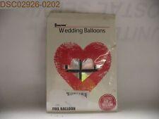 "Qty = 5: Chang zhong 22"" Wedding Silver Foil Helium Balloons"
