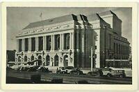 Postcard San Francisco CA War Memorial Opera House Cars Street View 1920's