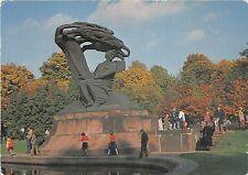 B56605 Warszawa Pomnik Fryderyka Chopina w Larzienkach poland